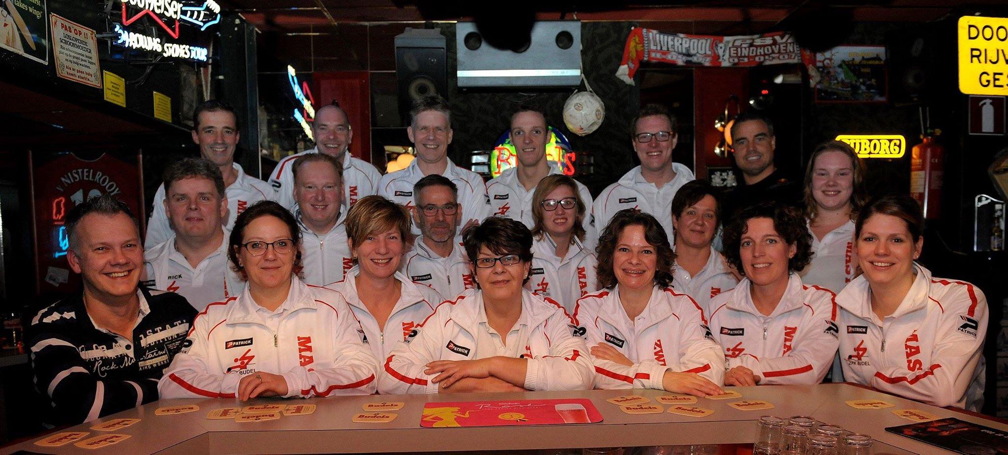 Nk Masters team 2015 Heerenveen